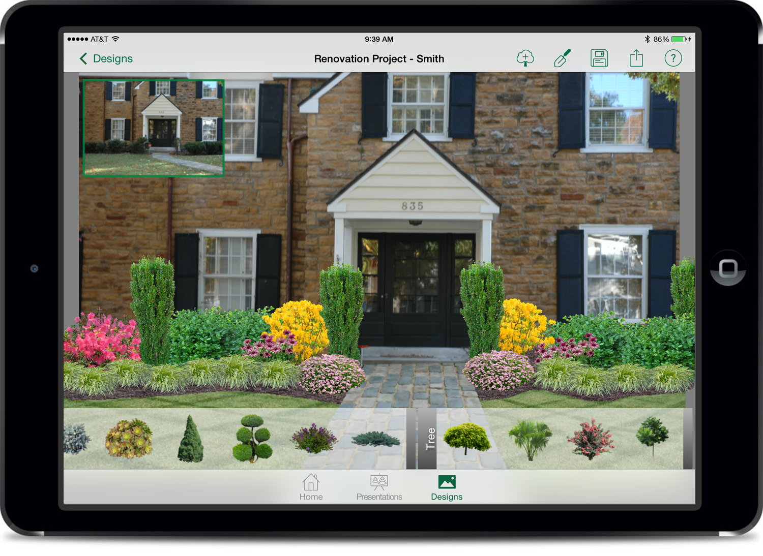 Garden and landscape design app for Pro design landscape