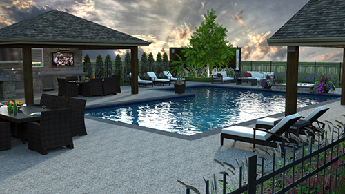Software that creates 3-D renderings is another trend among landscape design software users.