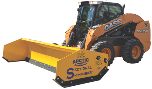 The Sectional Sno-Pusher is compatible with several types of equipment including wheel loaders backhoes skid-steers compact loaders and tractors.  sc 1 st  Landscape Management : sectional snow pushers - Sectionals, Sofas & Couches