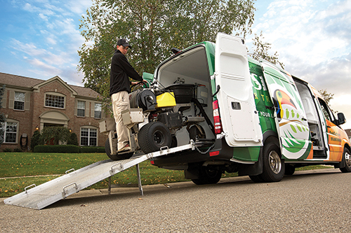 Turf care vehicles which do you prefer and why for Garden maintenance van