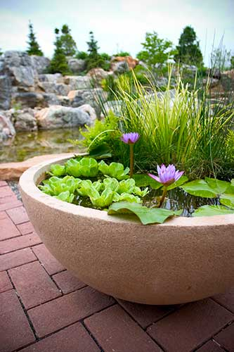 A Win-win Installation Water features are now designed to be more affordable for homeowners and easier to install for contractors.