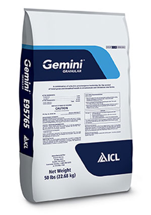 icl specialty fertilizers released the gemini granular preemergent herbicide which features iclu0027s r50 optimizer new granular formulation - Preemergent Herbicide