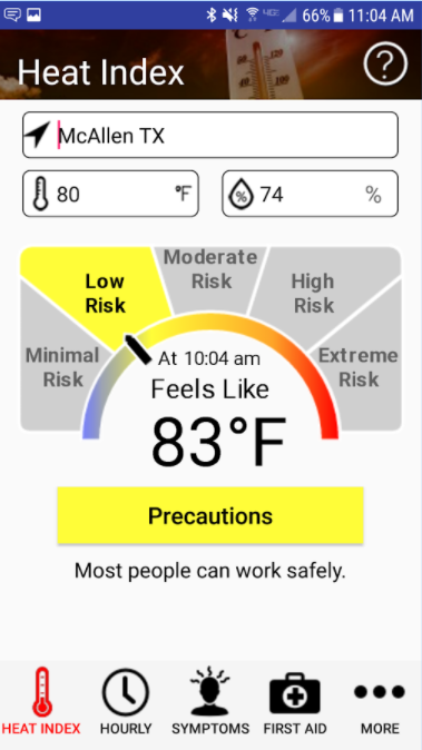 Calendar Planner National Bookstore : Niosh osha update heat safety app for outdoor workers