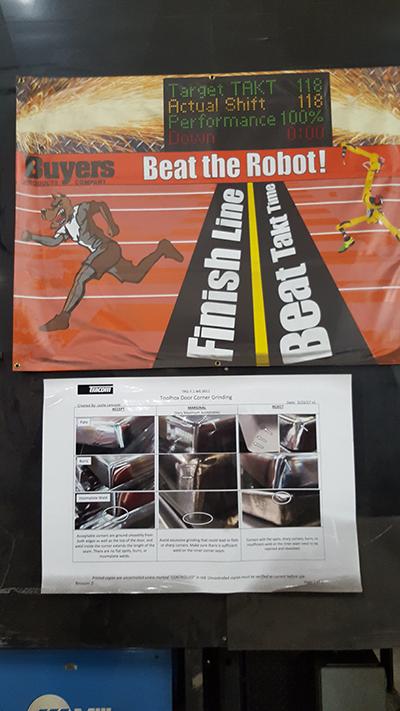 beat the robot banner